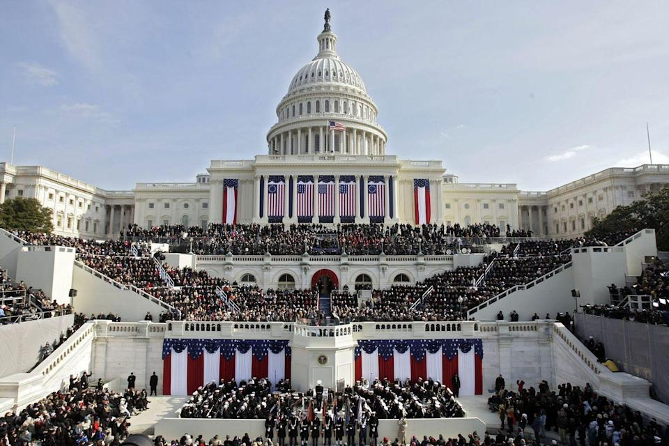 <p>Sworn in on January of 2009, President Barak Obama's presence alone can be attributed to the massive waves of tourist visiting Washington, D.C., at the time. </p>