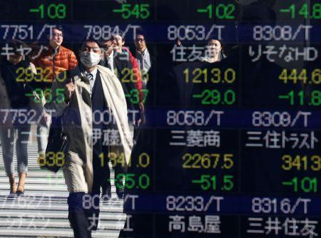 Asian shares mixed as Nikkei rises on yen, muted elsewhere""