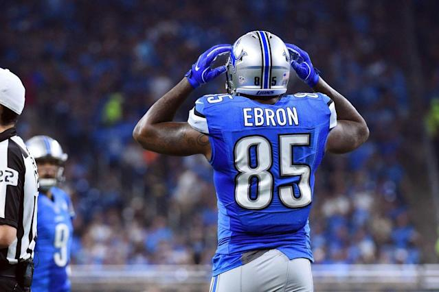 "Is this <em>finally</em> <a class=""link rapid-noclick-resp"" href=""/nfl/players/27538/"" data-ylk=""slk:Eric Ebron"">Eric Ebron</a>'s year? Or could a rookie wideout steal his perceived thunder? Fanalyst, Liz Loza digs in."