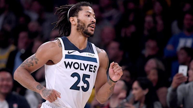 Pistons front-runners to sign Derrick Rose, per reports