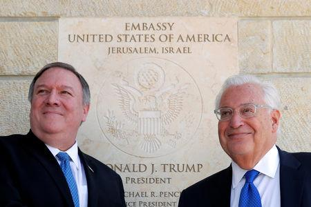 In Jerusalem, Pompeo Tackles US Democrats on Antisemitism