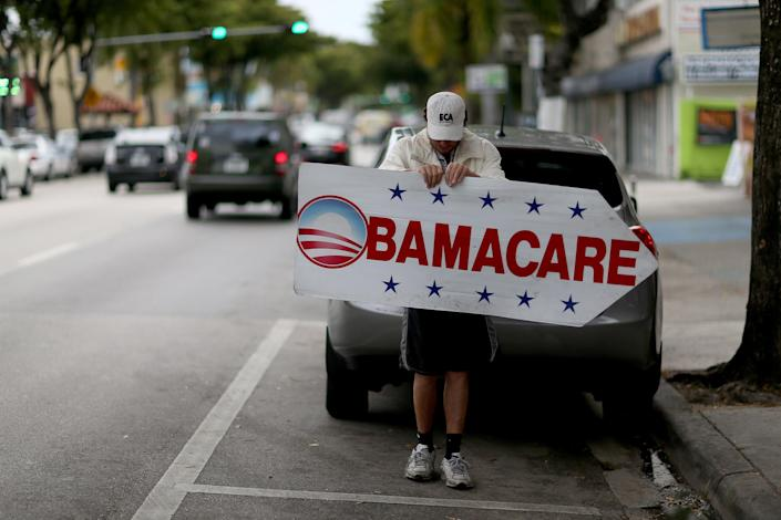 Image: Deadline Approaches To Signup For Health Insurance Under Affordable Care Act (Joe Raedle / Getty Images, file)