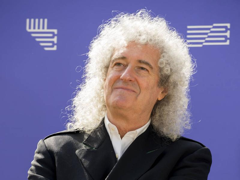 Brian May going vegan for January