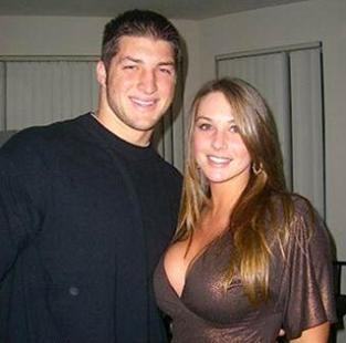 Doc Five The Most Famous Girlfriends In College Football No 2 Florida Student In Tebow Pic