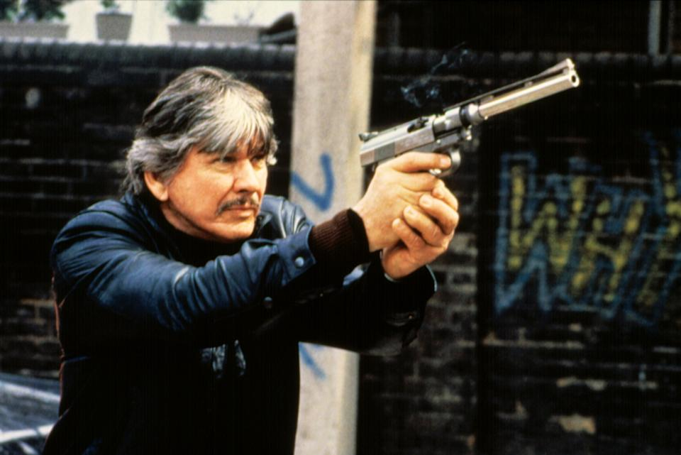 Charles Bronson in 1985's 'Death Wish 3.' He almost played the 'City Slickers' role that won Jack Palance an Oscar. (Photo: Cannon Films/Courtesy Everett Collection)