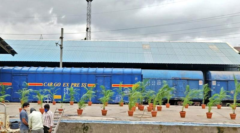 South Central Railway Flags Off First Cargo Express on Hyderabad-New Delhi Route