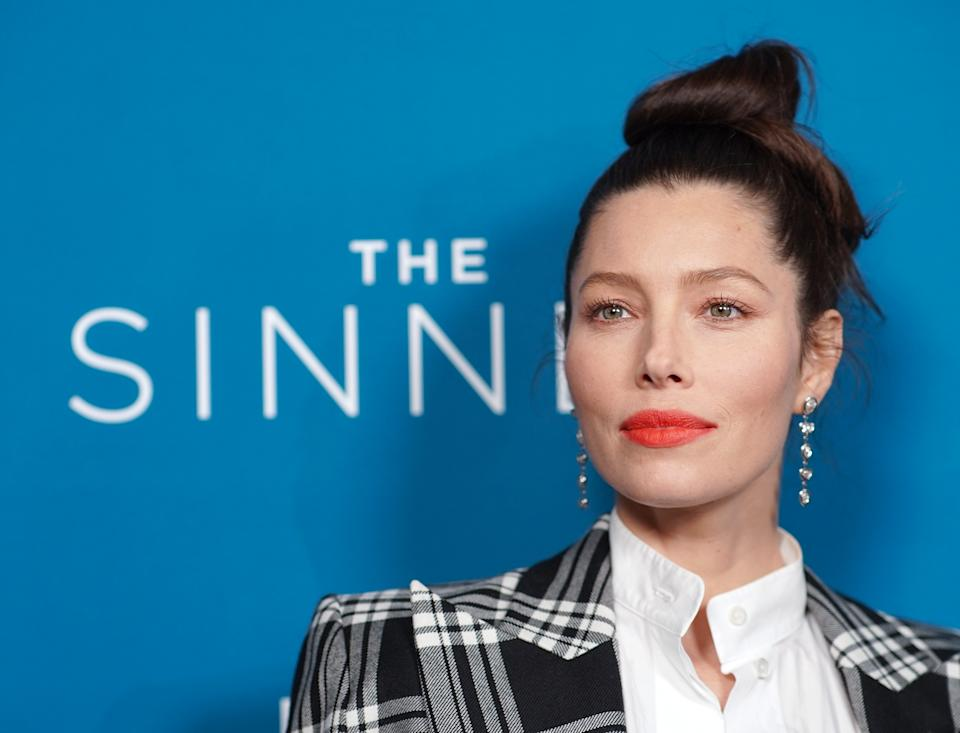 WEST HOLLYWOOD, CALIFORNIA - FEBRUARY 03:  Jessica Biel attends the
