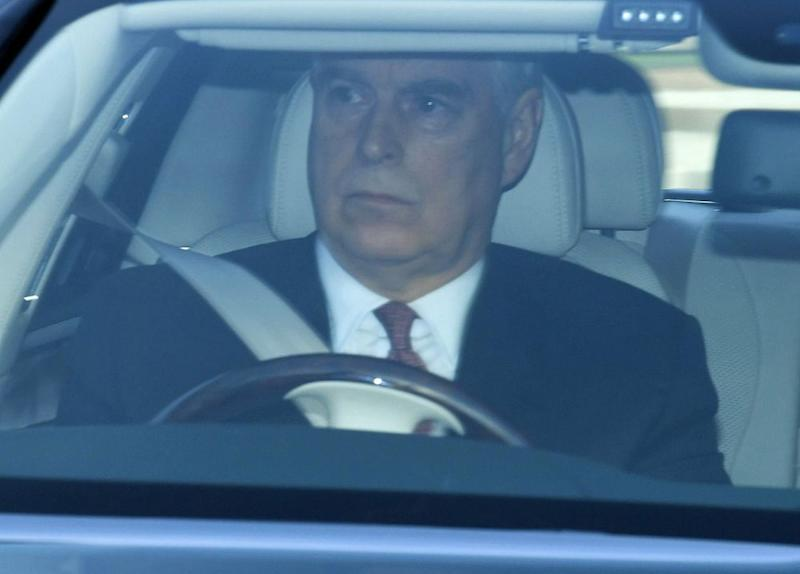 Prince Andrew arrives at Queen's Christmas lunch | Tim Rooke/Shutterstock