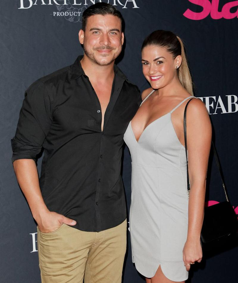 Jax Taylor (L) and Brittany Cartwright
