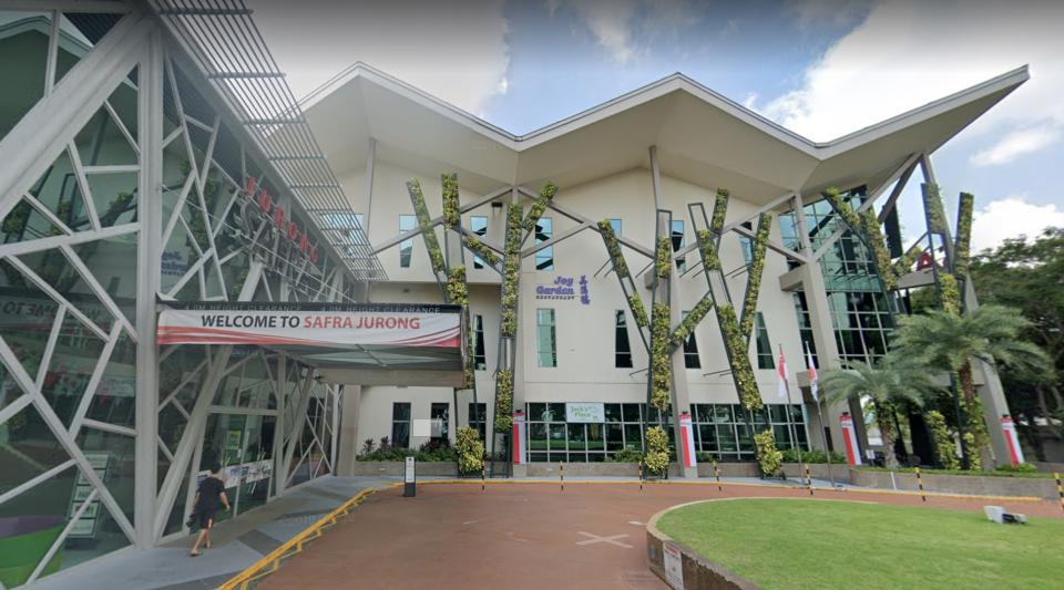 SAFRA Jurong (PHOTO: Google Maps/Screenshot)