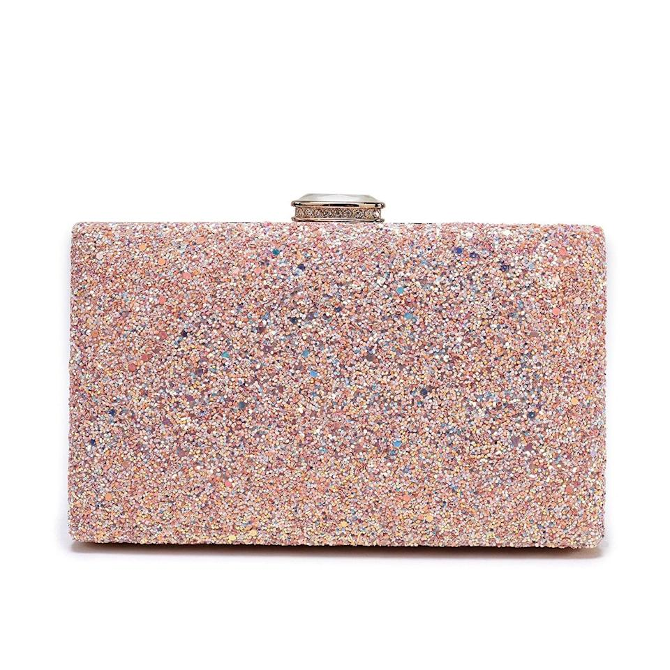 <p>We can't take our eyes off this <span>Sparkling Glitter Evening Clutch </span> ($20).</p>