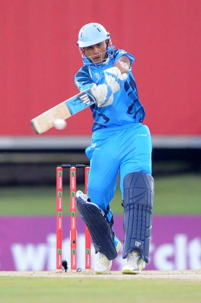 PRETORIA, SOUTH AFRICA - OCTOBER 26: (SOUTH AFRICA OUT) Henry Davids during the Karbonn Smart CLT20 Semi Final match between Nashua Titans and Sydney Sixers at SuperSport Park on October 26, 2012 in Pretoria, South Africa (Photo by Duif du Toit/Gallo Images/Getty Images)