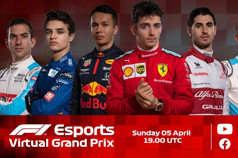 The second round of the F1 Virtual Grand Prix series takes place at Melbourne's Albert Park track: F1