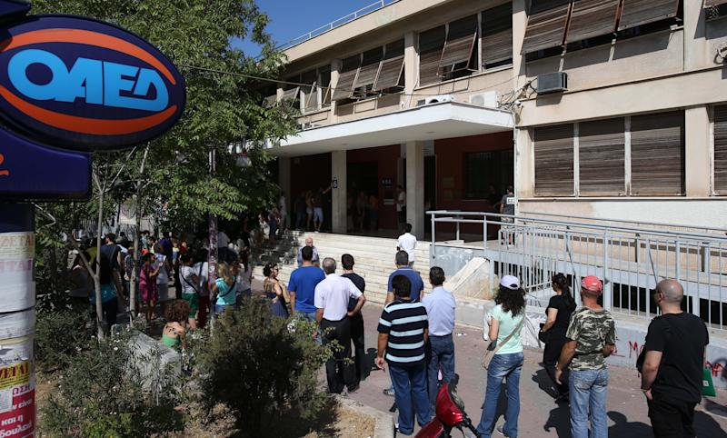 Greek unemployment at new record high