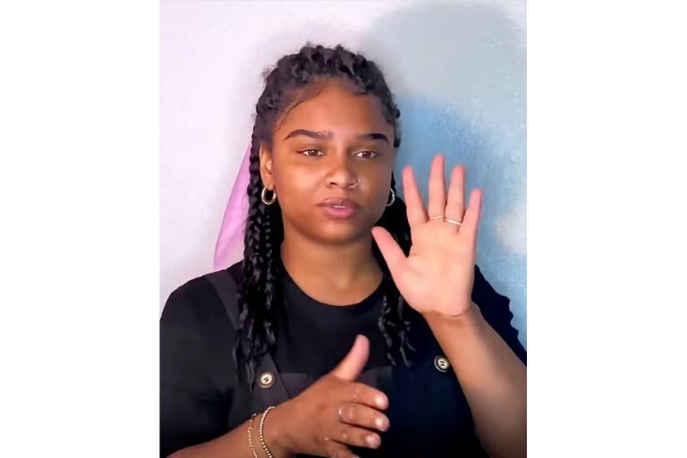 Nakia Smith uses her large online following to promote her little-known dialect: Black American Sign Language