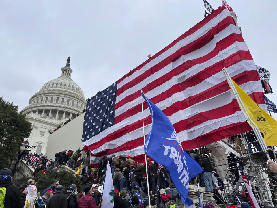 Photo by: zz/STRF/STAR MAX/IPx 2021 1/27/21 More than 30,000 registered voters have changed their Republican affiliation after the riot at the Capitol Building in Washington, D.C.. STAR MAX File Photo: 1/6/21 The United States Capitol Building in Washington, D.C. was breached by thousands of protesters during a