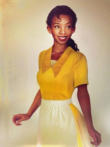"""Down-to-earth and fun-loving Tiana from The Princess and the Frog glows in yellow.<br><br>All photos by: <a href=""""http://www.jirkavinse.wordpress.com"""" rel=""""nofollow noopener"""" target=""""_blank"""" data-ylk=""""slk:jirkavinse.wordpress.com"""" class=""""link rapid-noclick-resp"""">jirkavinse.wordpress.com</a>"""