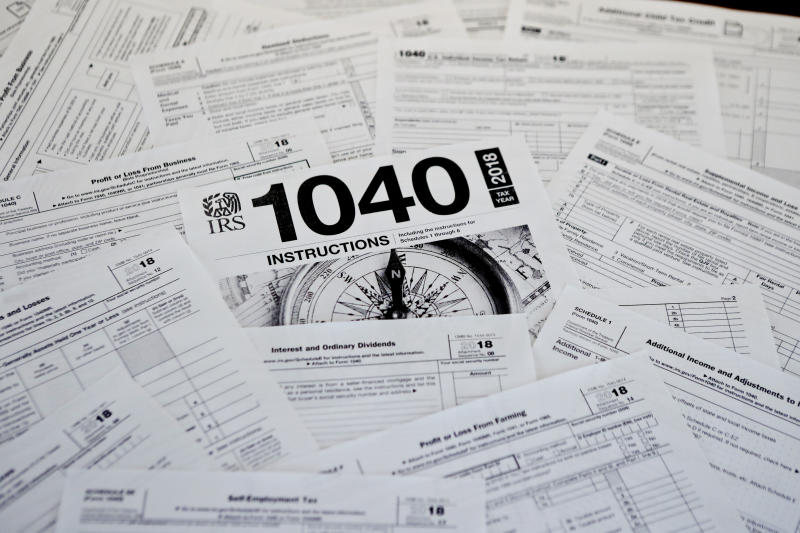 IRS head: Average 2018 tax refund little changed at $2,833