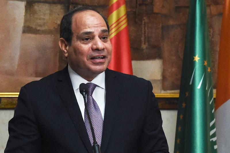 Egyptian President Abdel Fattah al-Sisi, a former army general, came to power after the ousting of Islamist Mohamed Morsi, who himself was elected after the uprising that felled longtime autocrat Hosni Mubarak (AFP Photo/ISSOUF SANOGO)
