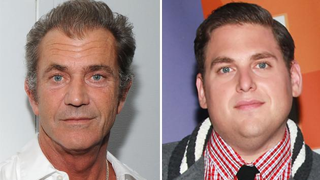 Mel Gibson and Jonah Hill