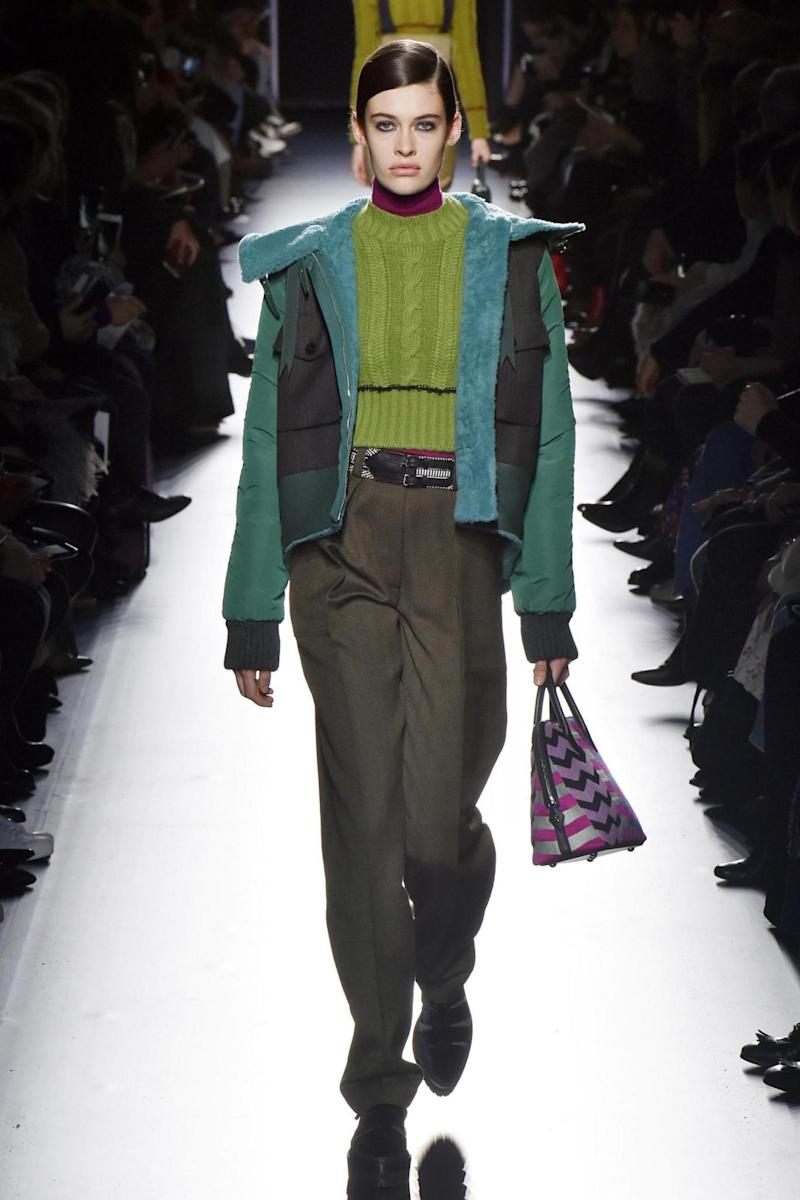 Hermes at PFW (Catwalking.com)