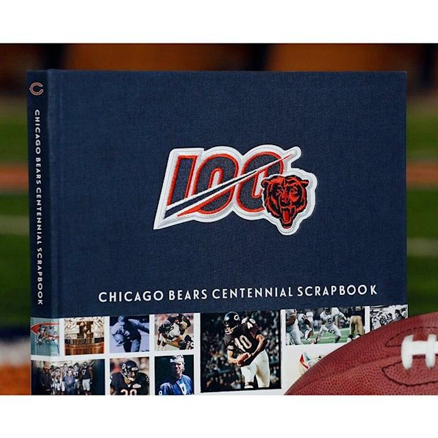 Chicago Bears Centennial Scrapbook