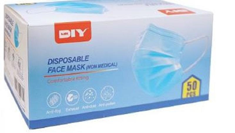 Have a worry-free Hari Raya with MR.DIY's wide range of safety and sanitisation products like face masks, face shields and cleaning solutions. ― Picture courtesy of MR.DIY