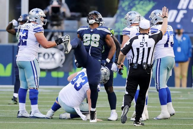 Injuries put Cowboys' offensive line in rare state of flux