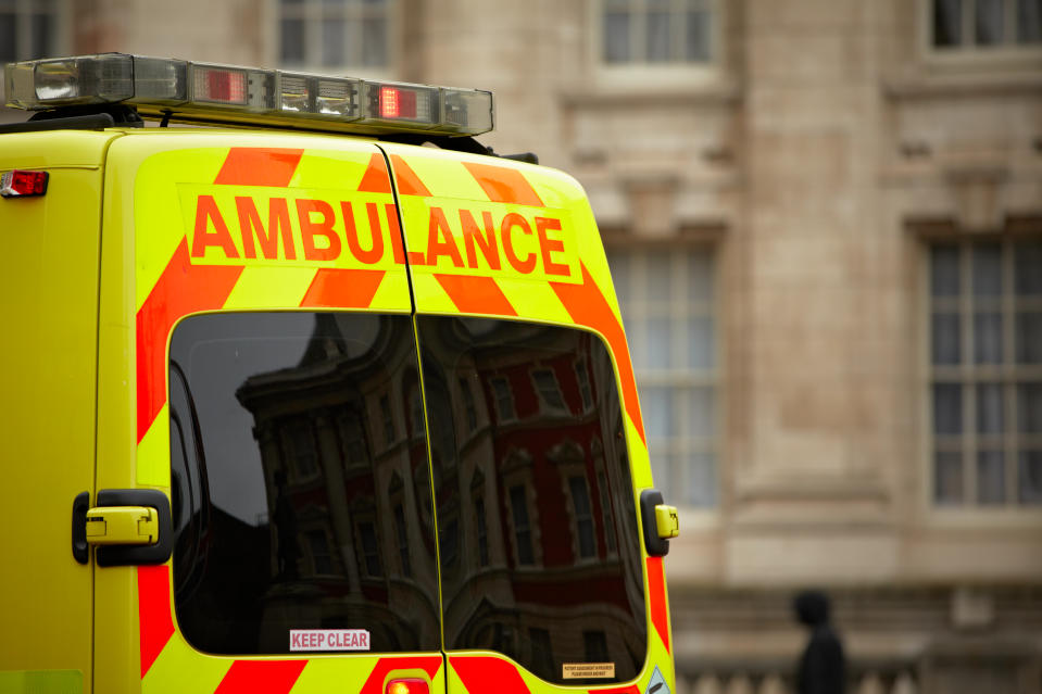 Police and the ambulance trust are appealing for any information on the cyclist responsible for the incident. (Getty)