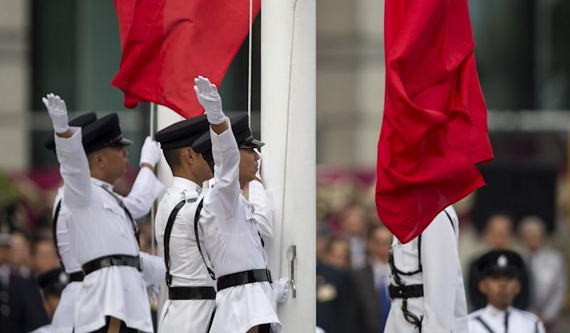 Lawmakers warned playing Chinese national anthem as tactic to disrupt Hong Kong legislature meetings risks breaking law under new bill