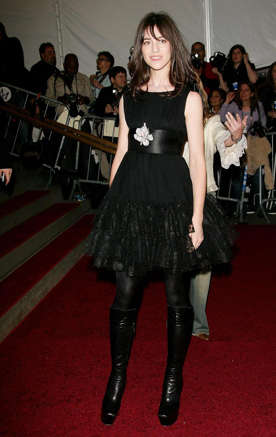 """<h1 class=""""title"""">Charlotte Gainsbourg in Balenciaga, 2006</h1><cite class=""""credit"""">Photo: Getty Images</cite>"""