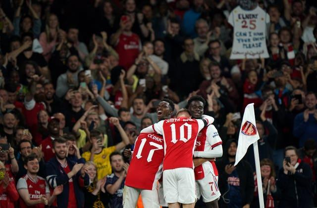 Arsenal sealed a comfortable win