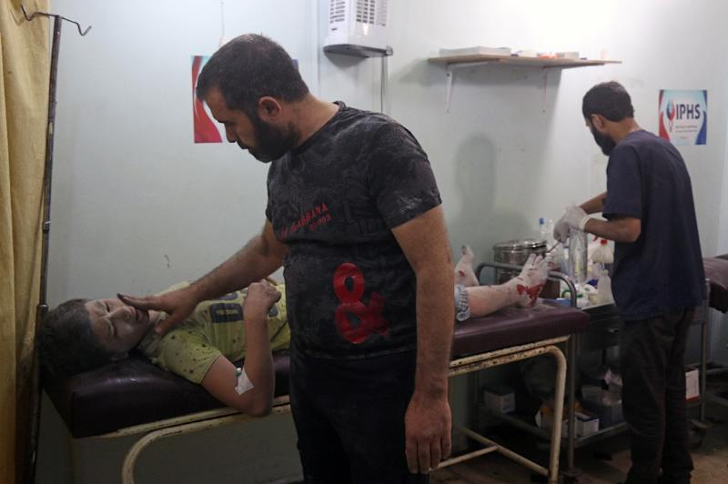 The brutal government offensive against rebel-held eastern Aleppo backed by Russian airpower has plunged Syria into some of the worst violence since the conflict erupted in March 2011 (AFP Photo/Thaer Mohammed)