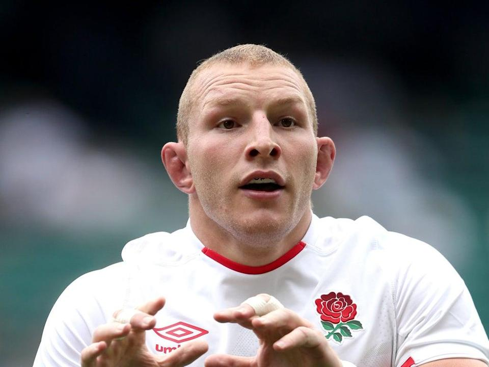 England's Sam Underhill is among rugby stars to have featured in a video encouraging young people to be vaccinated against the coronavirus (David Davies/PA) (PA Wire)