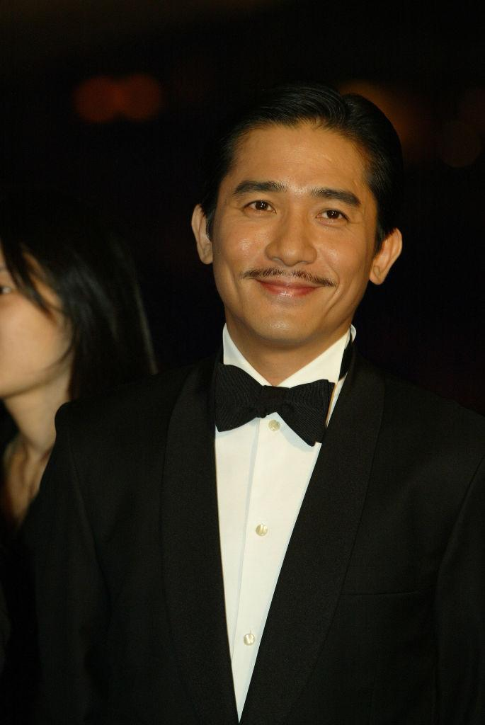 Tony Leung Chiu-wai attends the 23rd HK Film Awards Presentation held at the Cultural Centre in Tsim Sha Tsui. 04 April 2004 (Photo by K. Y. Cheng/South China Morning Post via Getty Images)