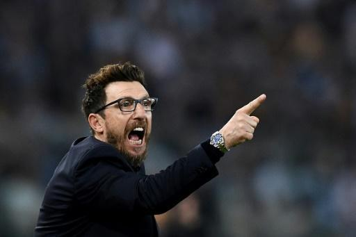 Roma's players have credited coach Eusebio di Francesco with their remarkable victory against Barcelona in the quarter-finals