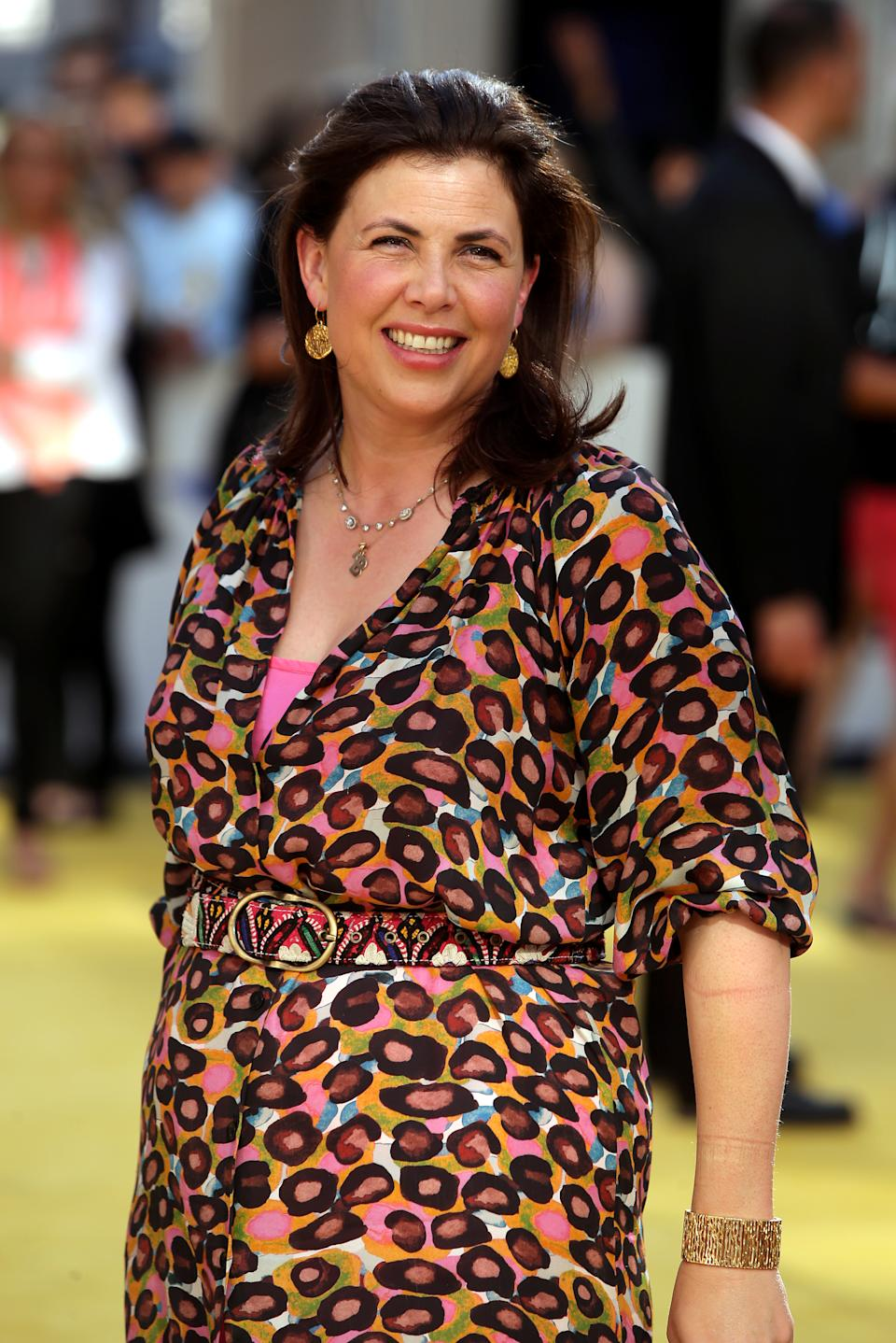 Kirstie Allsopp attending the world premiere of Minions at the Odeon Leicester Square, London. PRESS ASSOCIATION Photo. Picture date: Thursday June 11, 2015. Photo credit should read: Daniel Leal-Olivas/PA Wire