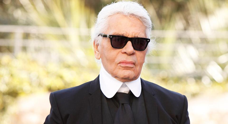 Karl Lagerfeld will be cremated, Chanel have confirmed. [Photo: Getty]