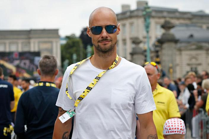 Tom Boonen pays a visit to the 2019 Tour de France