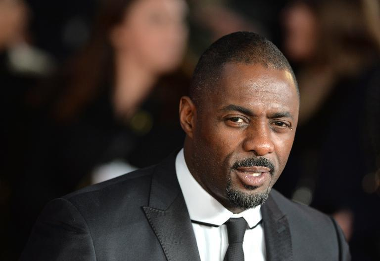 """British actor Idris Elba poses on the red carpet upon arrival at the film premier of """"Mandela: Long Walk to Freedom"""" in central London, December 5, 2013"""