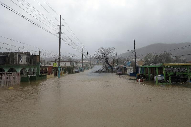 Image result for Puerto Rico faces floods, misery after Maria 'obliteration'