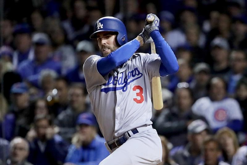 Win over Cubs puts Dodgers on brink of baseball World Series