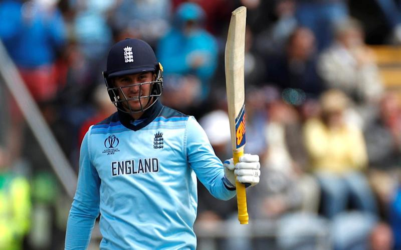 Roy's 153 off 121 balls laid the foundation for England's highest World Cup total of 386 for six - Action Images via Reuters