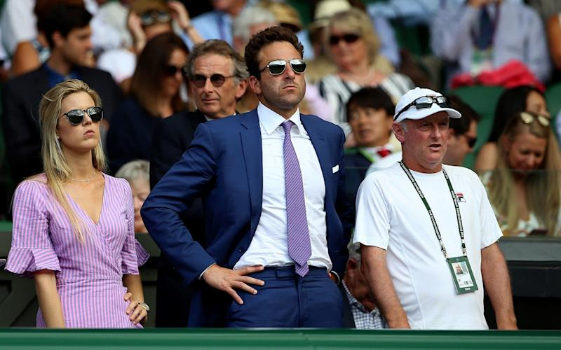 Justin Gimelstob will not be allowed to sit in the All England Club's Royal Box - PA