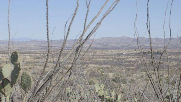 "PHOTO: Napier says in Pima County, ""some places the only way to get to those areas are by air or hiking."" (ABC)"