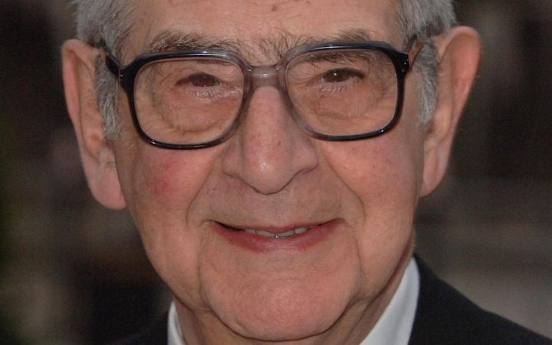 Denis Norden fronted the ITV bloopers show for 29 years from 1977 - PA