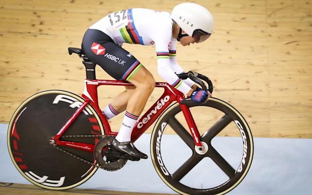 Elinor Barker was diagnosed just before last year's Track Cycling World Championships in late February - PA Wire