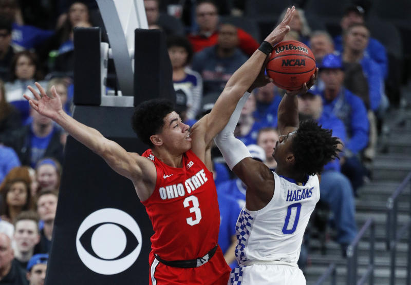 Kentucky leaves Vegas empty-handed; loses to Ohio St., 71-65