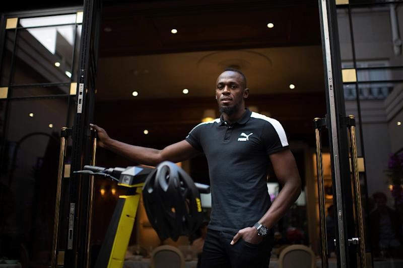 Usain Bolt had come to Paris to launch his brand -- but his hopes have been hit after another company with a similar name launched a legal challenge