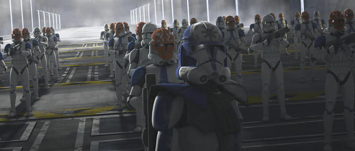 Clones in formation